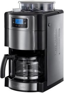Russell Hobbs Grind & Brew Kaffebrygger med Kværn og Timer, 10 kopper Russell Hobbs