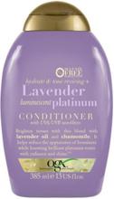 OGX Lavender Platinum Conditioner 385ml