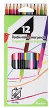 Auchan - Kredki ołówkowe z podwójną końcówką