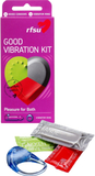 RFSU Good Vibration Kit: Kondomer & Vibrerande rin
