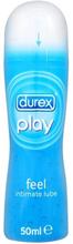 Durex Play Feel: Vattenbaserat Glidmedel, 50 ml