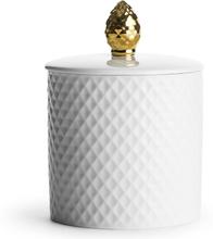 Sagaform - Kotte Dåse 45cl, Hvid/Guld