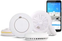Smart brandvarnaresystem Housegard Note - Startpaket med hub och brandvarnare