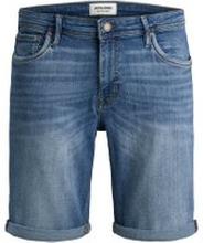 JACK & JONES Superstretchiga Jeansshorts Man Blå