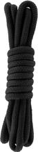 Hidden Desire: Bondage Rope, 3m, svart