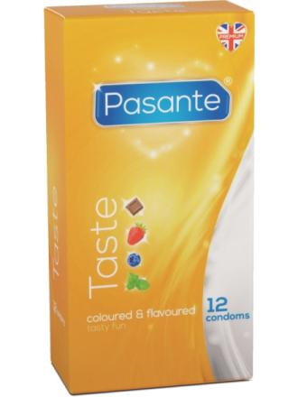 Pasante Taste: Kondomer, 12-pack