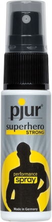 Pjur Superhero Strong: Fördröjningsspray, 20 ml