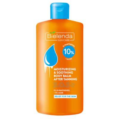 Bielenda SOS Moisturizing & Soothing Body Balm After Tanning 150 ml