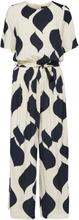 SELECTED Short-sleeved - Jumpsuit Women Blue