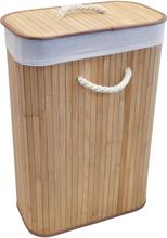 Duschy Tvättkorg Bambu-Natur