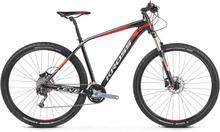 "Kross Level 5.0 29"" Mountainbike Svart/Röd, WTB TL fälger, 27gir, 14 kg"