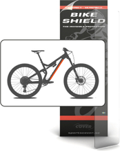 Sportscover Bikeshield Tube Shield M Transparent, 500 x 94 mm