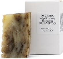 Babassu Shampoo Bar, ca. 100 g, Kelp & Ylang
