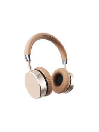 Aluminum Wireless Headphones - hovedtelefoner med mik. - Z?oty