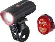 Sigma Buster300 + Nugget II Lyssett 300 Lumen framlys, 1/2 watt baklys