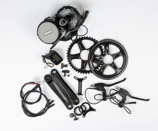 Bafang G340 El-cykel Kit u/Batteri Krankmotor med alle deler