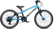 """Frog Bikes 55 Barncykel Team Sky, 6-7 år, 20"""", 8 växlar, 8,55 kg"""