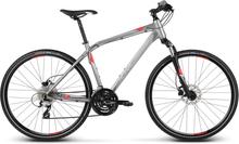 Kross Evado 4.0 Herre Hybridsykkel Til trening og tur! 24 gir, Dempegaffel!