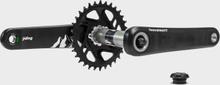 TeamZWATT Yding karbon Effektmätare DM, 30mm axel, 175mm