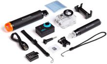 KITVISION Actioncamera AdventurePack Kamera 1080P SD 16GB Selfiestick Floatgripp