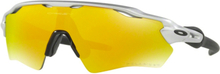Oakley Radar EV XS Path Glasögon Silver/Fire Iridium Polarized