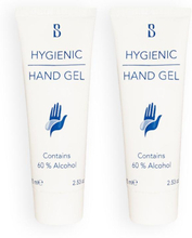 2-pack Brilliant Smile Hygienic Hand Gel With Alcohol 75ml