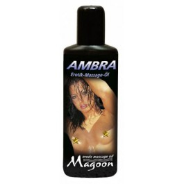 "Massage Oil ""Ambra"" 100 ml, eroottinen hierontaöljy"
