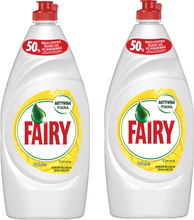 Fairy Astianpesuaine Sitruuna Duo 2 x 900 ml