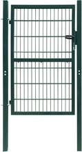 Hageport (enkel) grønn - 106 x 230 cm