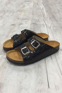 Bianco - Sandal - Glitter Bio Sandal - Black