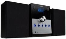 MC-30 DAB Stereoanläggning DAB+ Bluetooth Fjärrkontroll 20W max. Silver