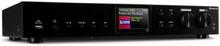 iTuner CD HiFi-receiver internet/DAB+/ FM radio CD-player WiFi svart