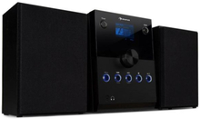 MC-30 DAB Micro-stereoanläggning 2 högtalare DAB+ FM Bluetooth CD-player 20W max. svart