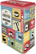 Kaffeburk coffee in the morning med knäpplock