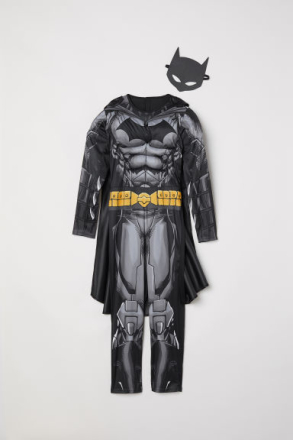 H & M - Supersankariasu - Musta