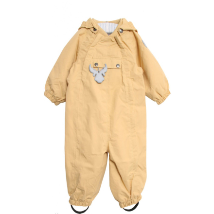 Wheat parkdress / vårdress til baby, gul