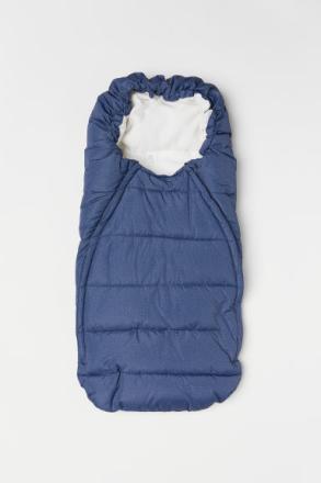 H & M - Pehmustettu lämpöpussi - Sininen