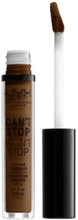 NYX Professional Makeup Can't Stop Won't Stop Concealer Walnut