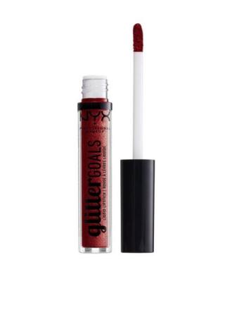 NYX Professional Makeup Glitter Goals Liquid Lipstick Crystal Crush
