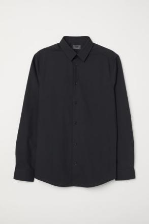 H & M - Premium cotton -paita - Musta