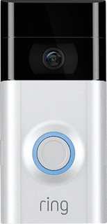 ring 4462222 IP Video-porttelefon WiFi Utomhusenhet 1 Familjshus Satin Nickel