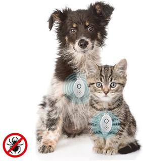 Oppladbart ultralydparasittmiddel for kjæledyr