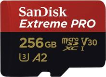 Sandisk Extreme Pro MicroSDXC 256GB R170/W90 V30 U3 4K