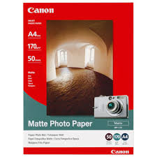 Canon MP-101 matt fotopapper A4 50st, 170gsm