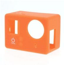 Skyddande Silikon Skal för GoPro3 3+ - Orange