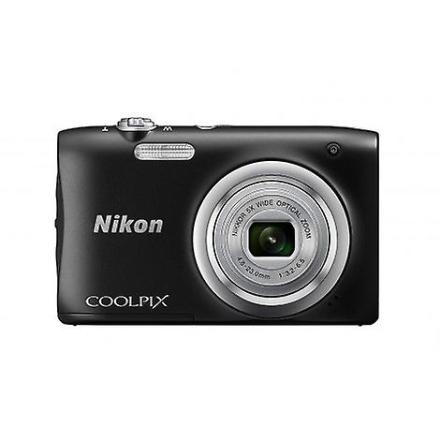 Kamera Nikon Coolpix A100 svart kompakt