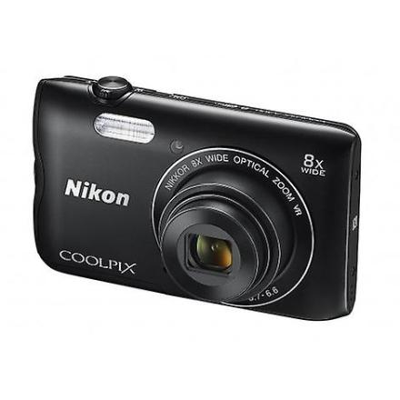 Nikon Coolpix kamera A300 svart kompakt