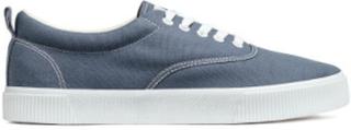 H & M - Sko i bomull - Blå