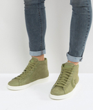 Converse PL 76 Hi Trainers In Green 155649C - Gree