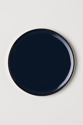 H & M - Iso metallitarjotin - Sininen
